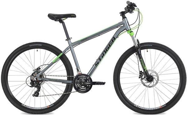 Горный (MTB) велосипед Stinger Graphite Evo 29 (2019) рама 18 серый 29AHD.GRAPHEVO.18GRO